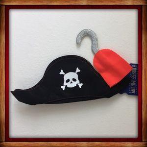 Cotton On Kids Pirate Hat Hook Halloween Costume